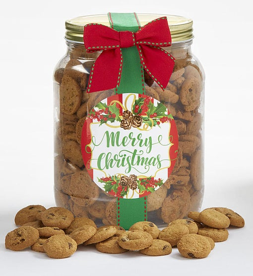 Merry Christmas! Chocolate Chip Cookie Jar