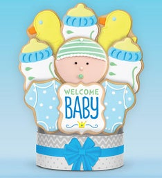 Its A Boy Cookie Bouquet