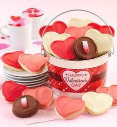 Cheryls Happy Valentines Day Buttercream Pail