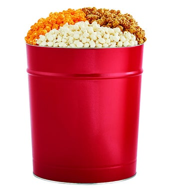 The Popcorn Factory 35G Red Tin - 3 Flavors