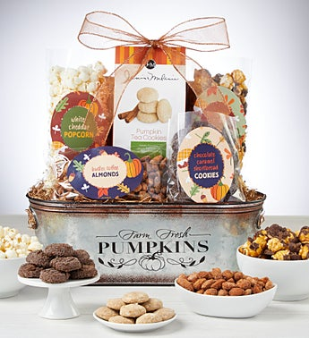Grand Harvest Sweets & Savories Gift Basket
