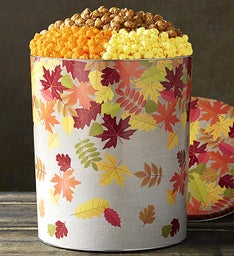The Popcorn Factory Hello Autumn 3 Way Tin 35G