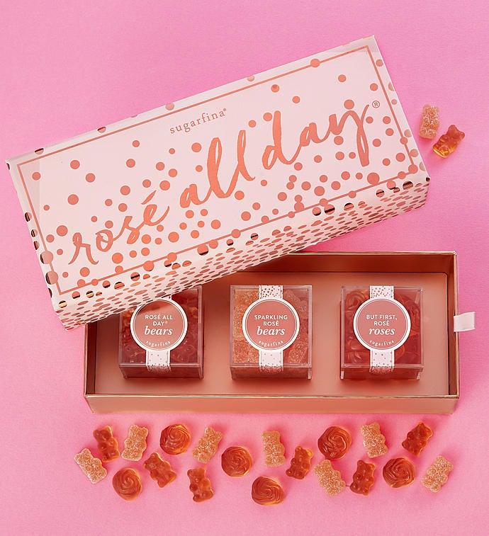 Sugarfina Rose All Day Candy Bento Box pc