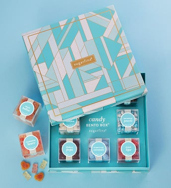 Sugarfina Faves Candy Bento Box 8Pc by 1-800-Baskets