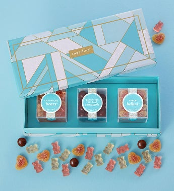 Sugarfina Faves Candy Bento Box 3Pc by 1-800-Baskets