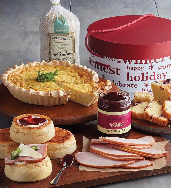 Harry & David® Christmas Brunch Gift Box | 1800Baskets.com