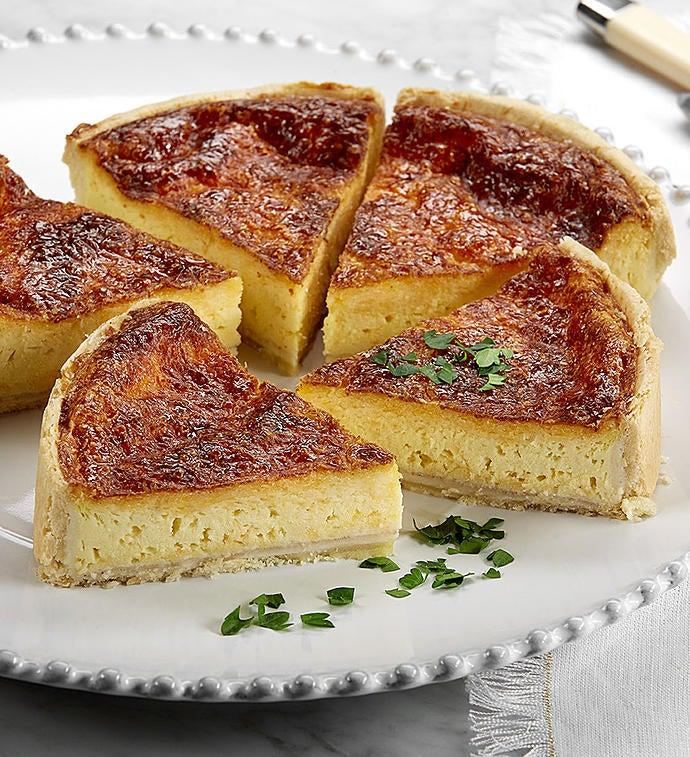Four Cheese Quiche