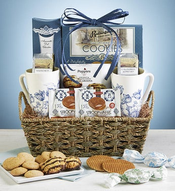 Moms Coffee Break Gift Basket