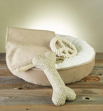 Sweet Dreams Pet Bed, Blanket & Toy Gift Set