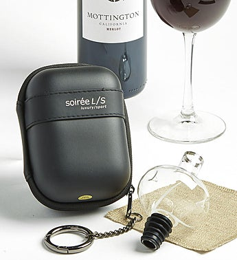 Tempour Travel Wine Aerator and Case
