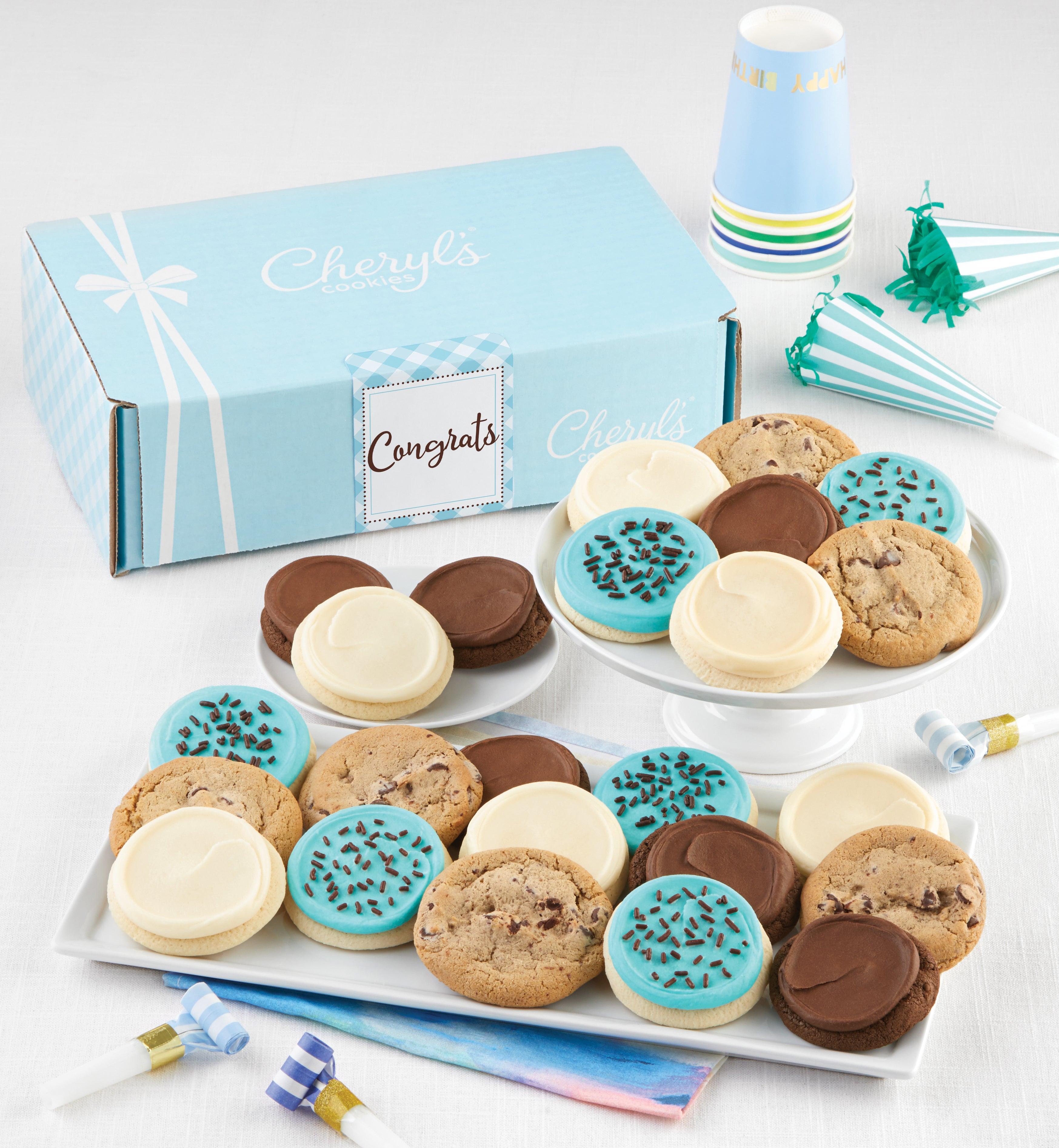 Cheryls Congrats Bow Gift Box Classic Assortment