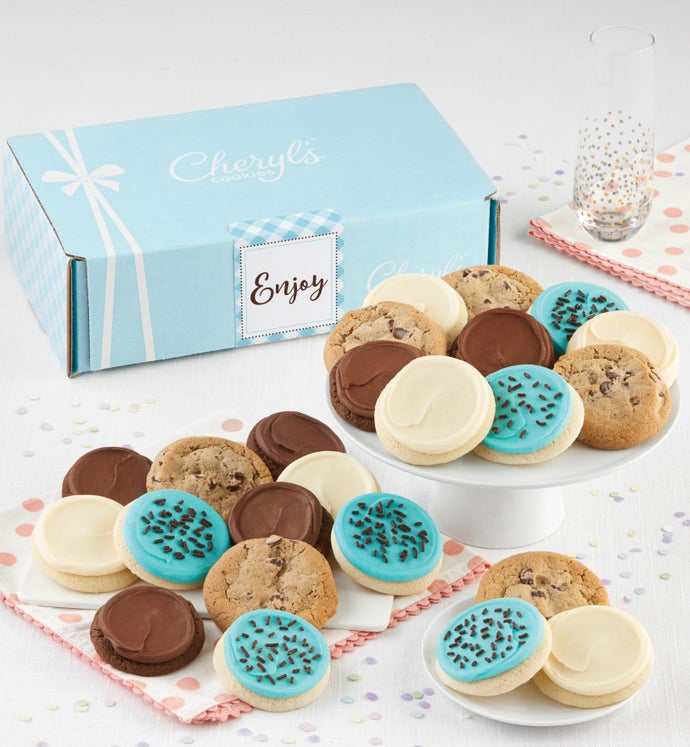 Cheryl's Enjoy Bow Gift Box Classic Assortment