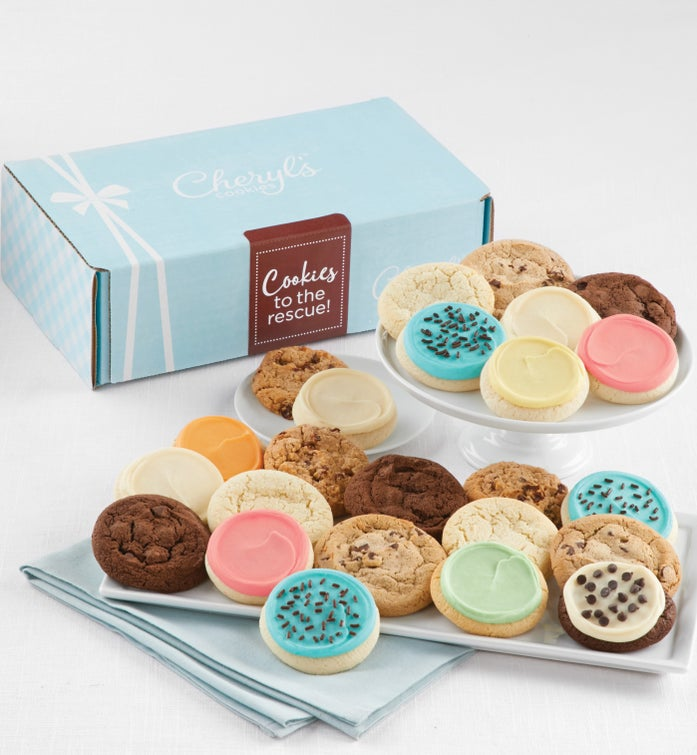 Cheryl's Cookies to the Rescue Gift Box
