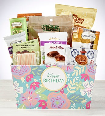 A Delightful Birthday Gift Basket