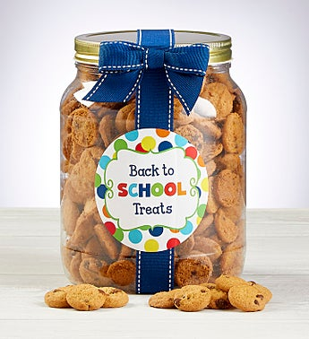 Back to School Chocolate Chip Cookie Jar
