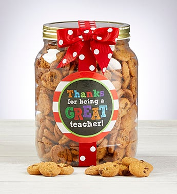 Teacher Chocolate Chip Cookie Jar