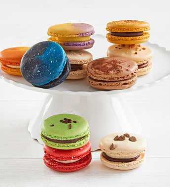 Chocolate Lovers 10 pc Macarons Asst