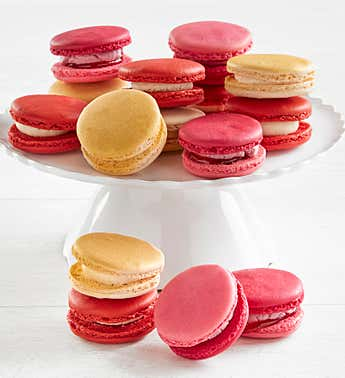 Anniversary of Love 15 pc Macarons Asst