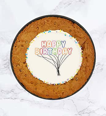 "SPOTS NYC 12"" Happy Birthday Cookie Cake"