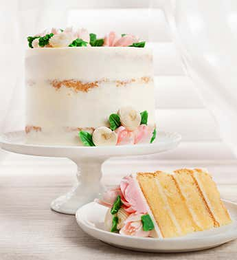 Mother's Day Lemon 4 Layer Cake