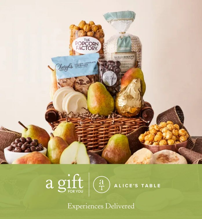 Alice's Table Signature Gift Basket