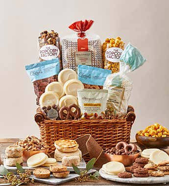 The Signature Collection Gift Basket with Cookies