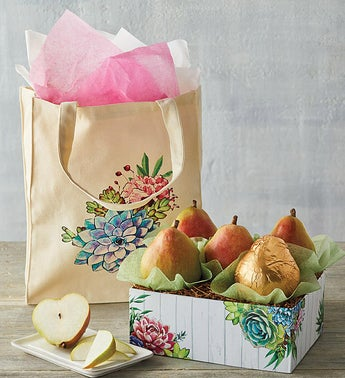 Harry  David Mothers Day Tote with Pears