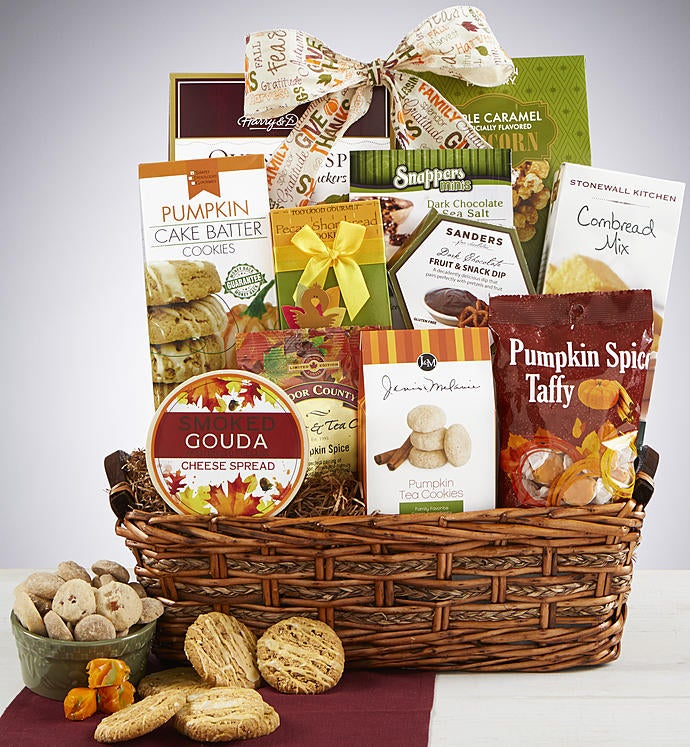 Autumn Feast Gourmet Gift Basket