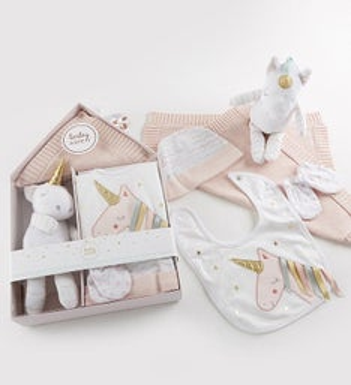Simply Enchanted Unicorn  pc Baby Gift Set