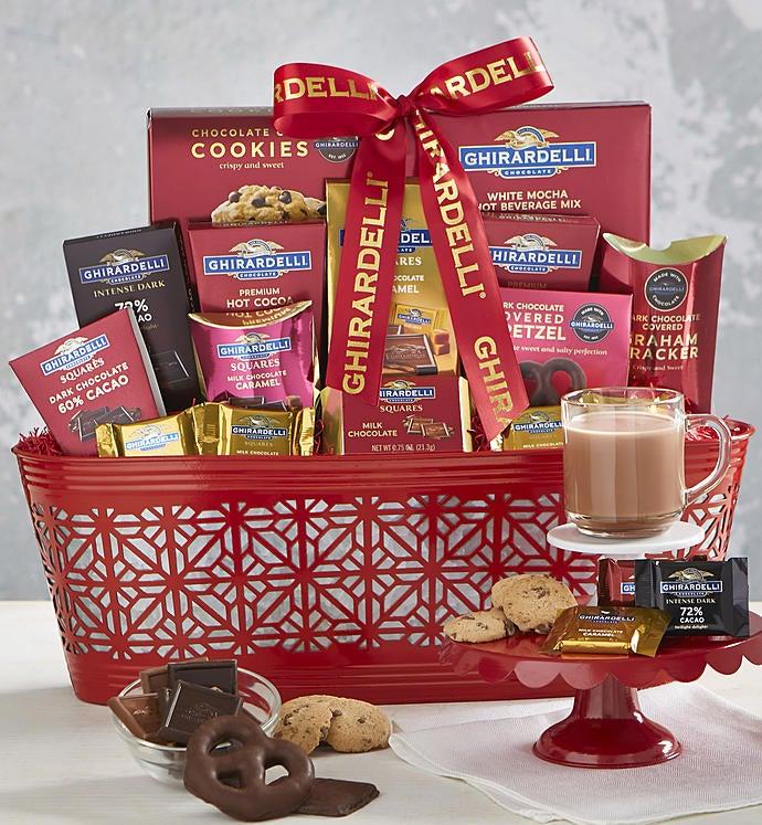 Classic Ghirardelli Gift Basket
