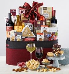 Countryside  Bottle Wine  Gourmet Gift Basket