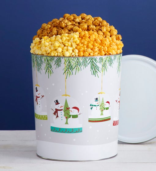 Popcorn Factory Magical Holiday 3.5G 3-Flavor Tin