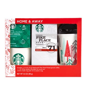 Starbucks Home  Away Mug Gift Set