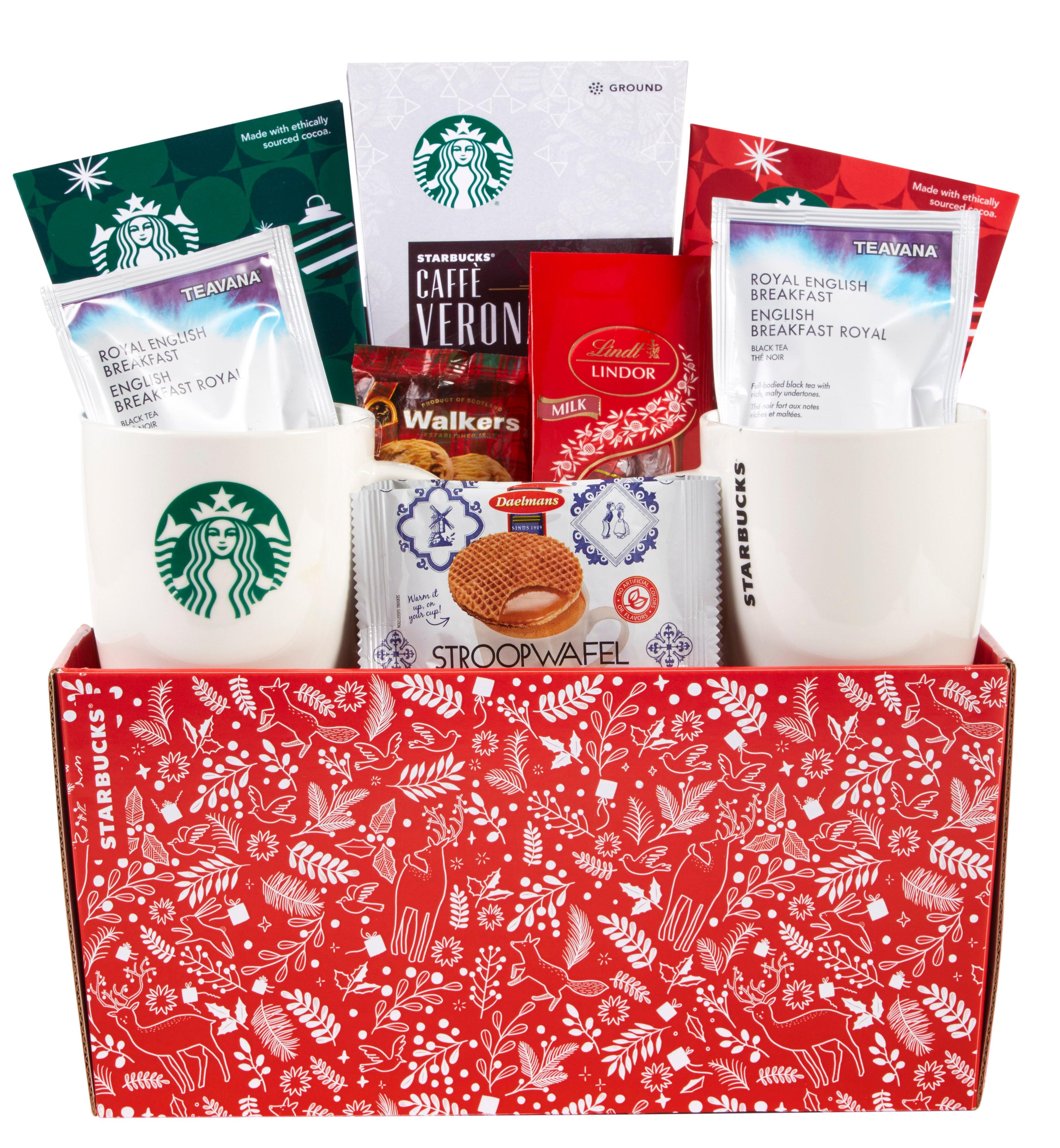 Starbucks Woodland Gift Basket