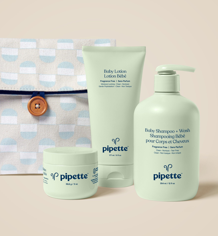 Pipette Baby Trio Keepsake Box  Travel Bag