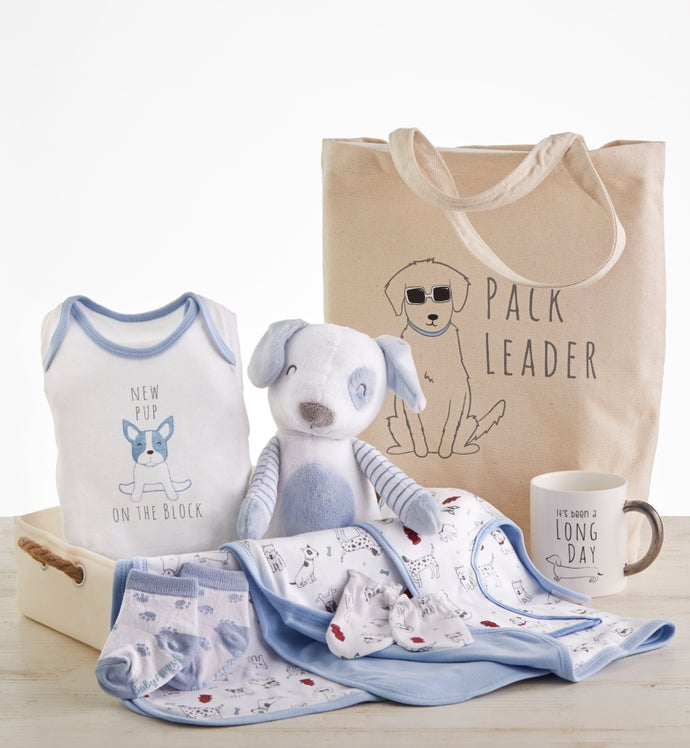 New Pup  pc Mom  Baby Gift Basket