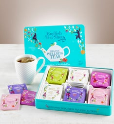English Tea Shop Organic Wellness Tea Tin