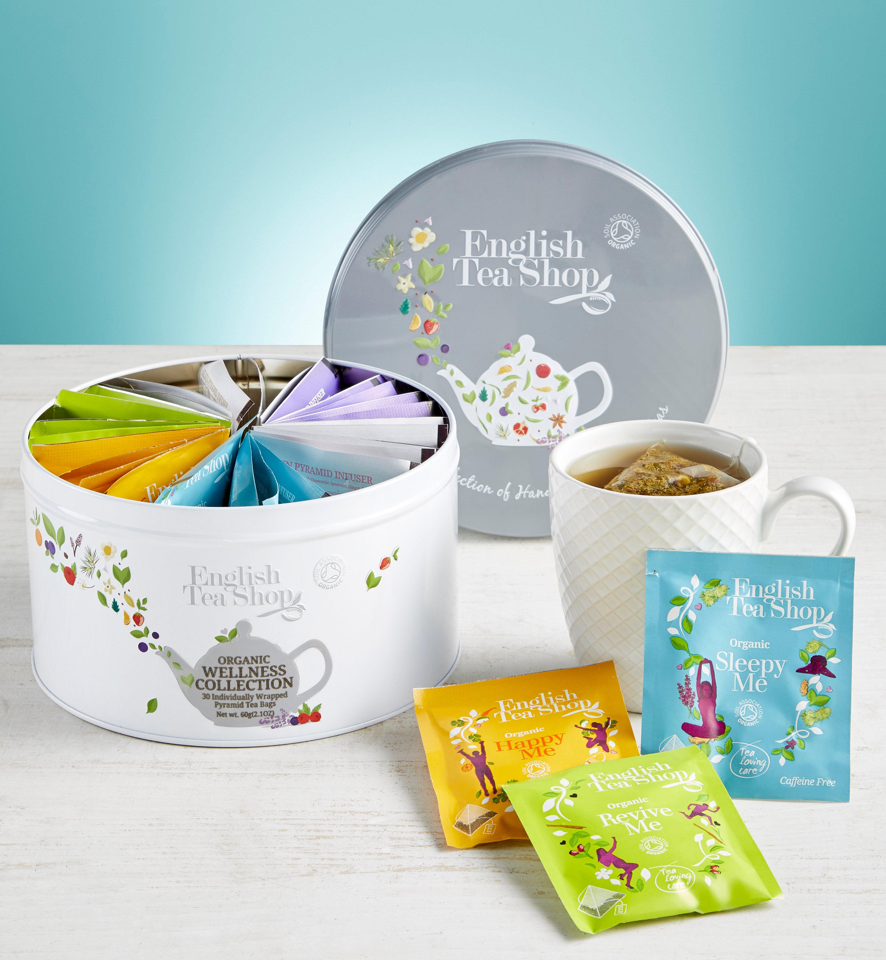 English Tea Shop Wellness Tea Round Tin