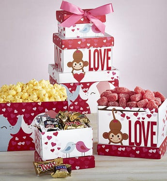 Love is in the Air Valentine Sweets Tower
