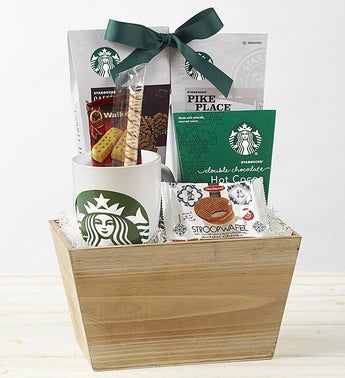 Starbucks Coffee Break Gift Basket