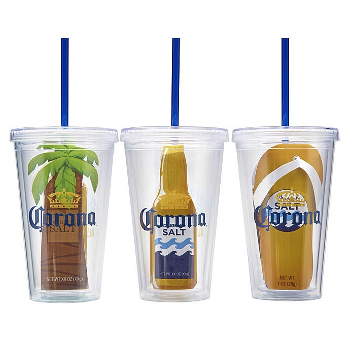 Corona Always Summer Cold Cup Gift  set of