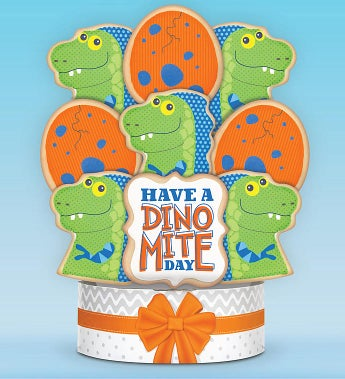 Have a Dino-Mite Day! Cookie Arrangement