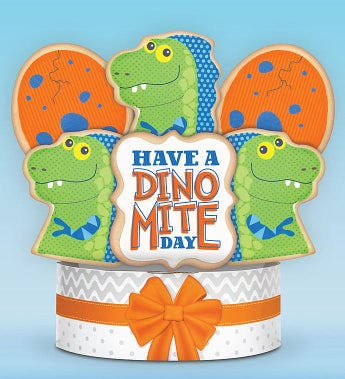Have a Dino-Mite Day! Cookie Bouquet