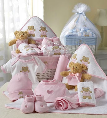 Comfy Baby Newborn Basket - Boy Or Girl-Comfy Baby Newborn Girl Basket