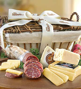 California Crafted Meat & Cheese Gift Basket