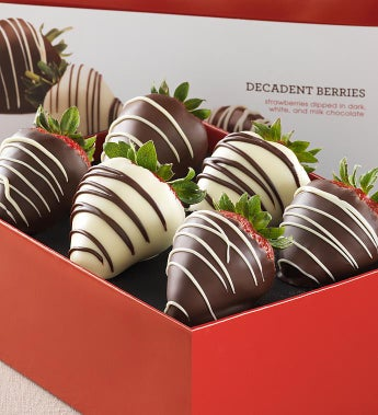 Berrylicious Chocolate Covered Strawberries 6Ct