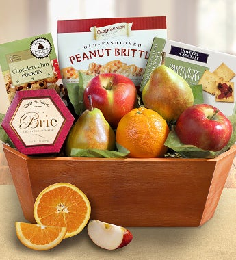 Fresh From The Orchard Fruit Gift Basket - Fresh From The Orchard Fruit Gift Basket