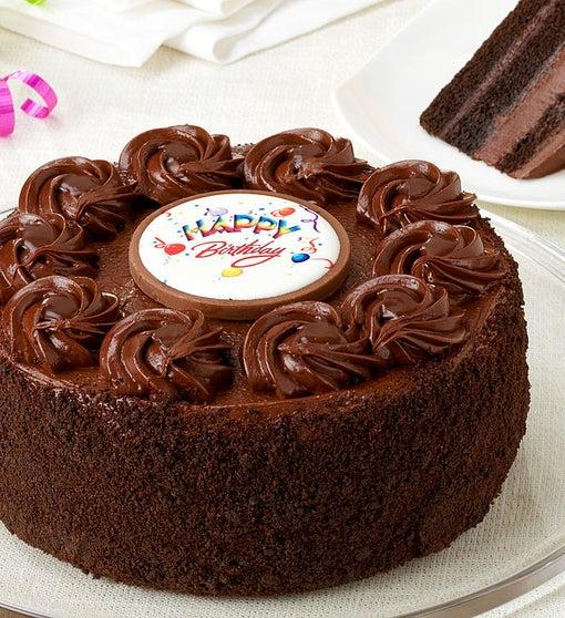 Junior S Happy Birthday Chocolate Fudge Cake