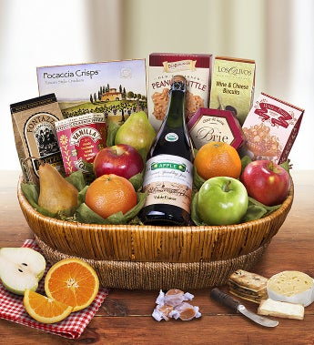 Farmstand Finest Deluxe Fruit Gift Basket by 1-800-Baskets