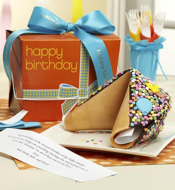 Personalized Gigantic Happy Birthday Fortune Cookie